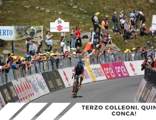 Colleoni terzo classificato, quinto posto per Conca! Giro d'Italia super per la Biesse Arvedi Premac!