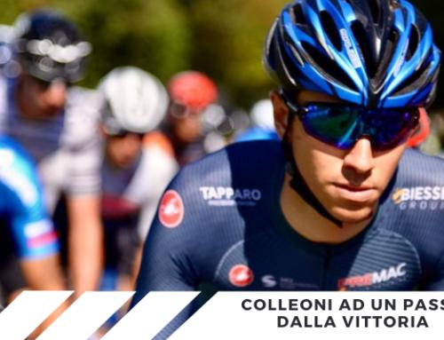 Giro d'Italia U23: Colleoni secondo nella tappa di oggi e nella generale!