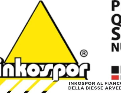 Inkospor nuovo sponsor tecnico della Biesse Arvedi Premac