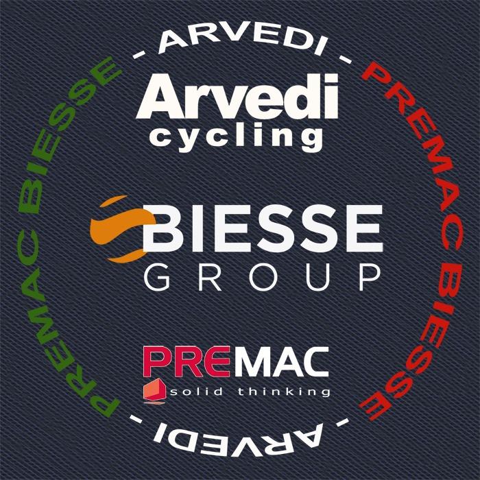 Biesse Arvedi cycling Logo